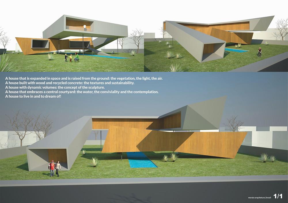 Exposição de projeto Morato Arquitetura, escritório de arquitetura em Belo Horizonte