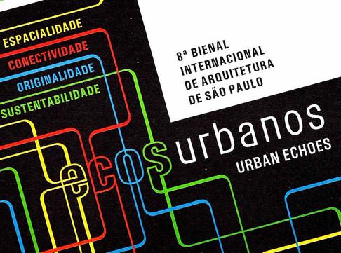 Morato na 8ª Bienal Internacional de Arquitetura de São Paulo