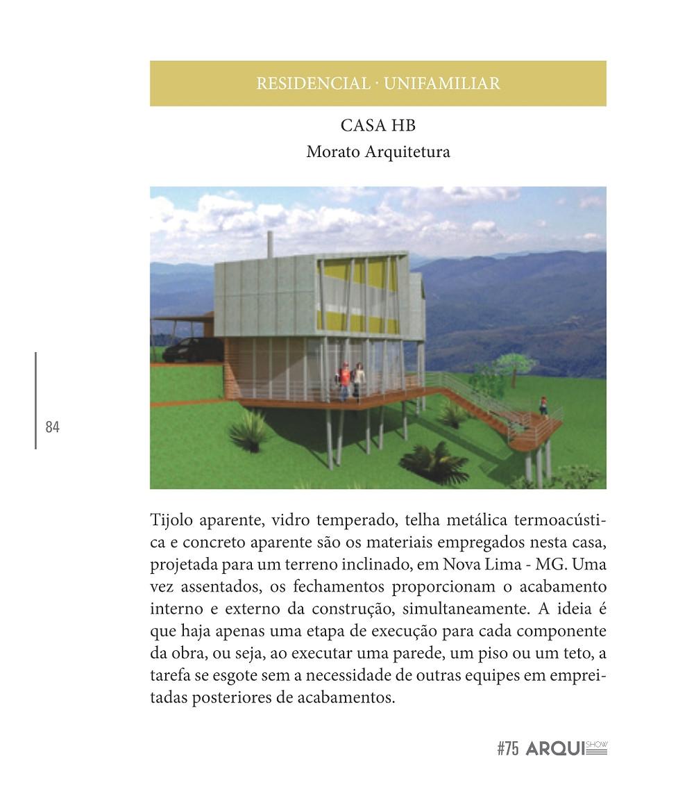 CASA HB- Projeto da Morato, Escritório de Arquitetura em Belo Horizonte