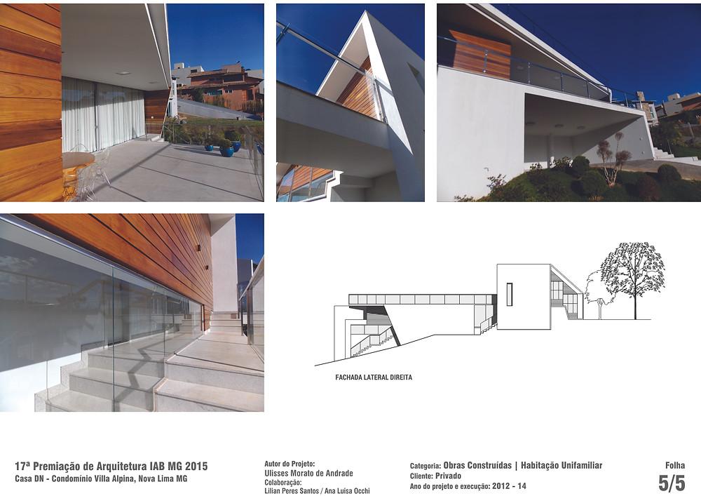 Casa DN - Prancha 05 - Menção Honrosa, IAB-MG 2015