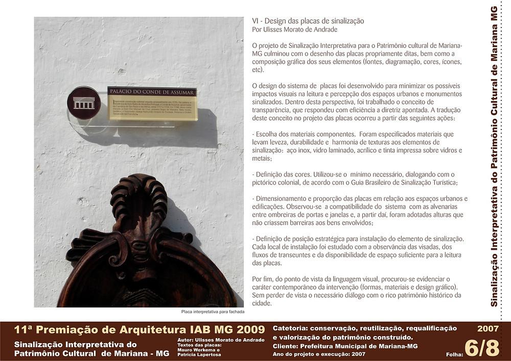 Painel do projeto premiado   Ulisses Morato