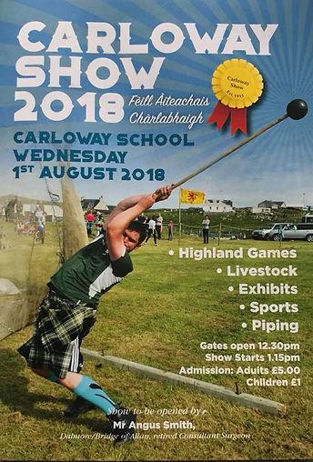 Carloway Show 2018