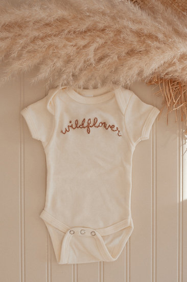 WILDFLOWER Embroidered T