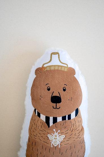 Honey Bear Snuggler Pillow
