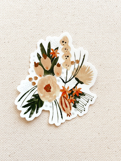 Milly Floral Sticker
