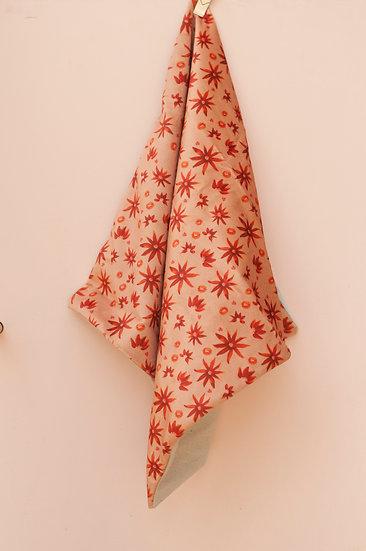 Vintage Floral Velvet Pillow Case
