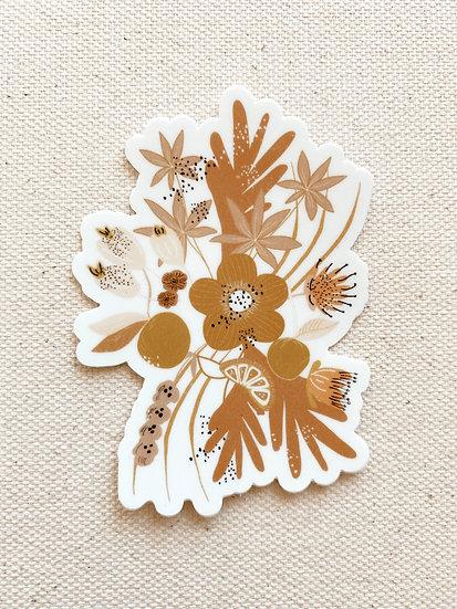 Sunday Floral Sticker