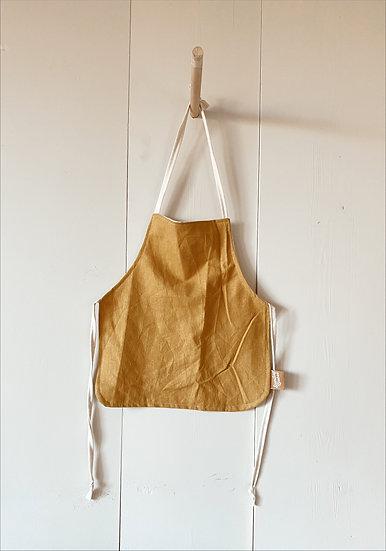 Mustard Linen Apron