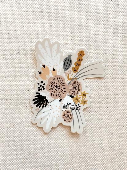 KyLynn Floral Sticker