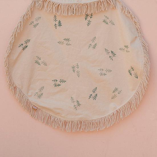 Forest Circle Fringe Picnic Blanket