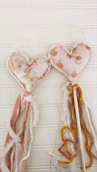 Velvet Heart Floral Play Wand