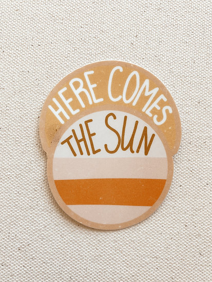 Here Comes the SunSet Sticker