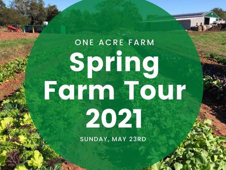 Spring Farm Tour at One Acre Farm