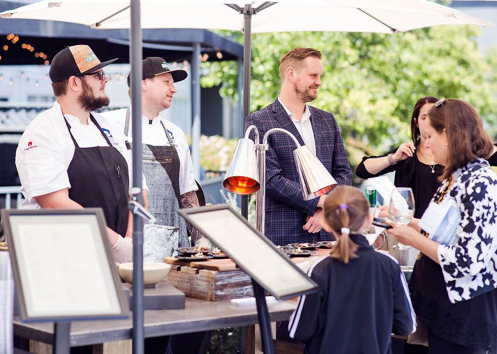 Meet the Chefs at Casa De Amparo event
