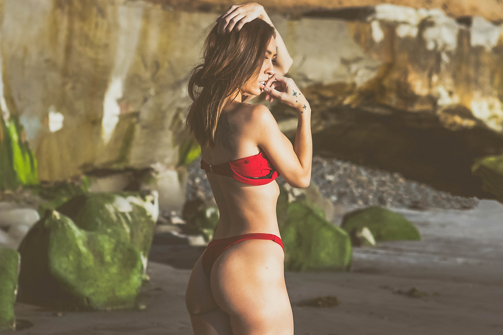 amazing beach and model photography in north county san diego
