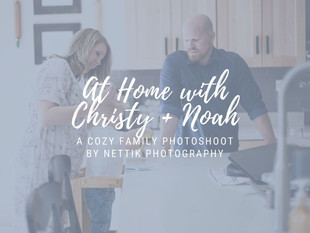 At Home with Christy + Noah