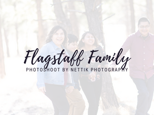 Flagstaff Family Photoshoot