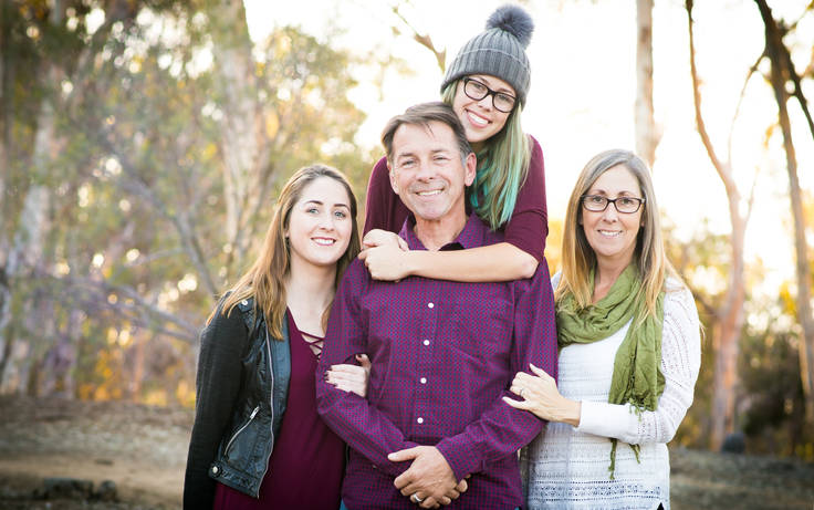 Family photographer in Flagstaff, Arizona