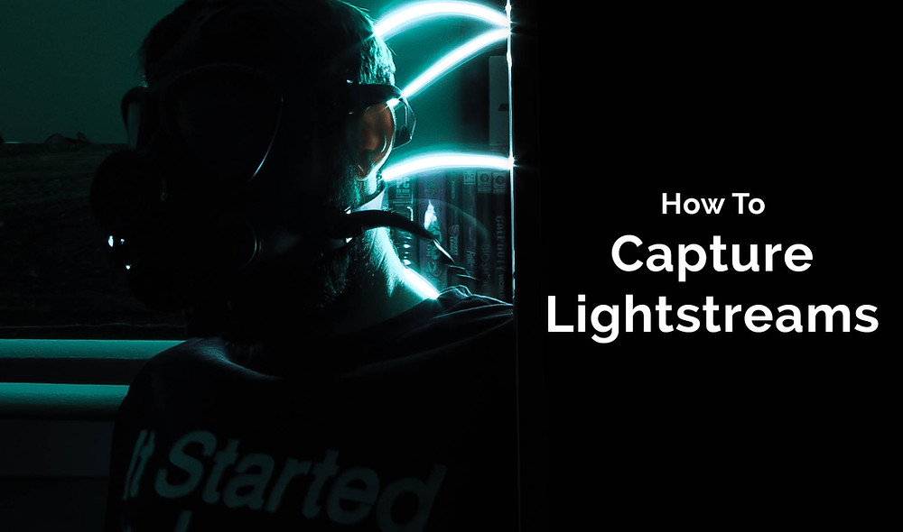 How to capture light streams and take photos in the dark