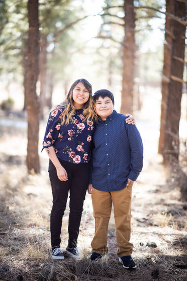 Flagstaff family photographer good with kids