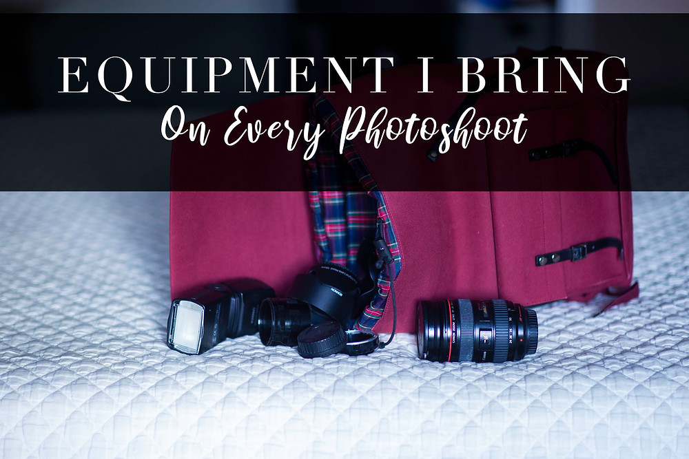 Nettik writes about equipment they bring on every photoshoot