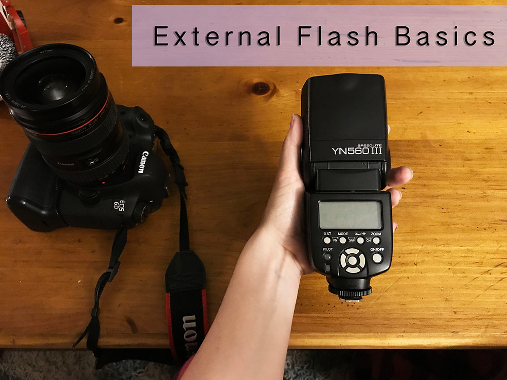 Introduction to external flash, tips for beginners