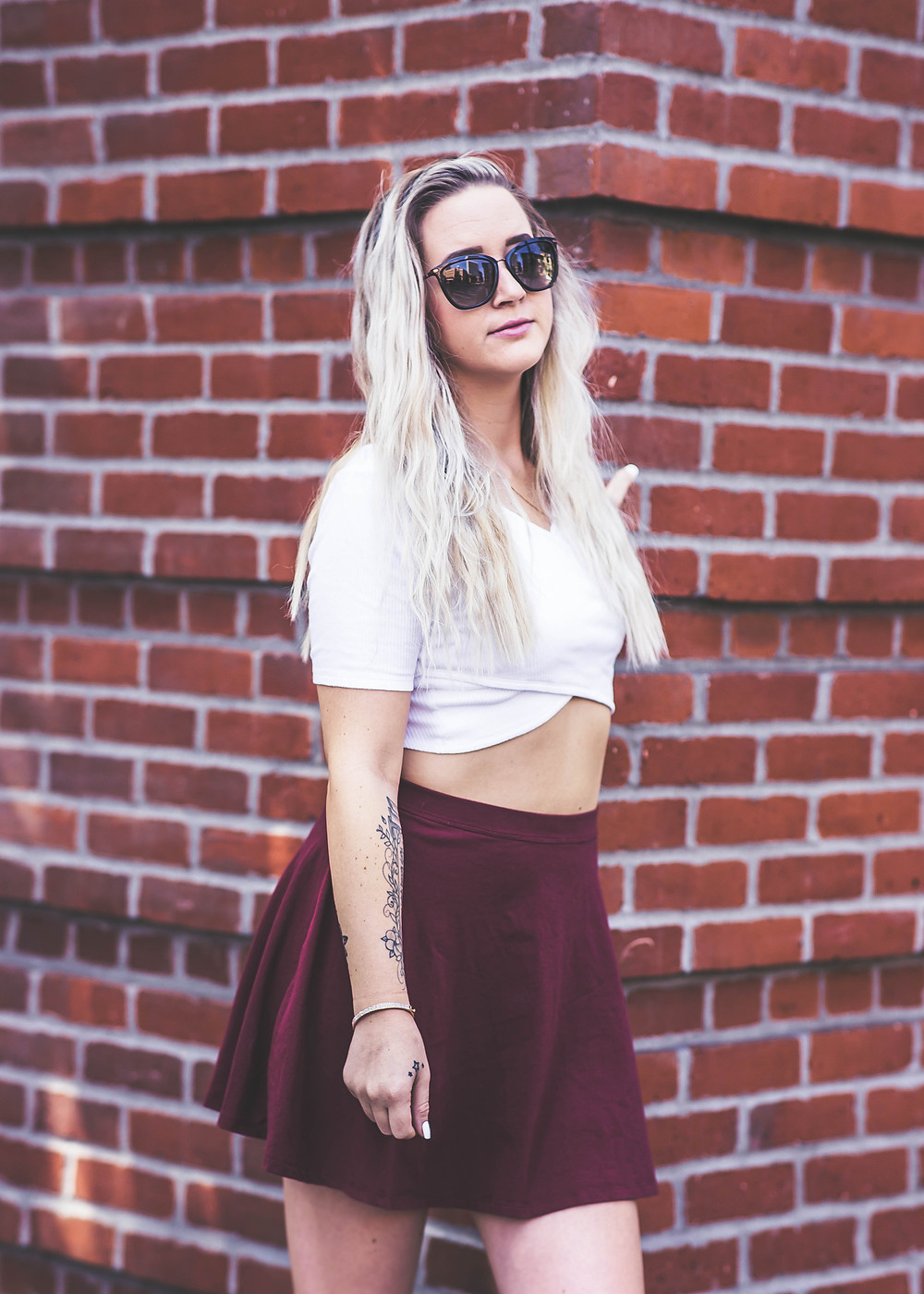 City chic, model in San Diego