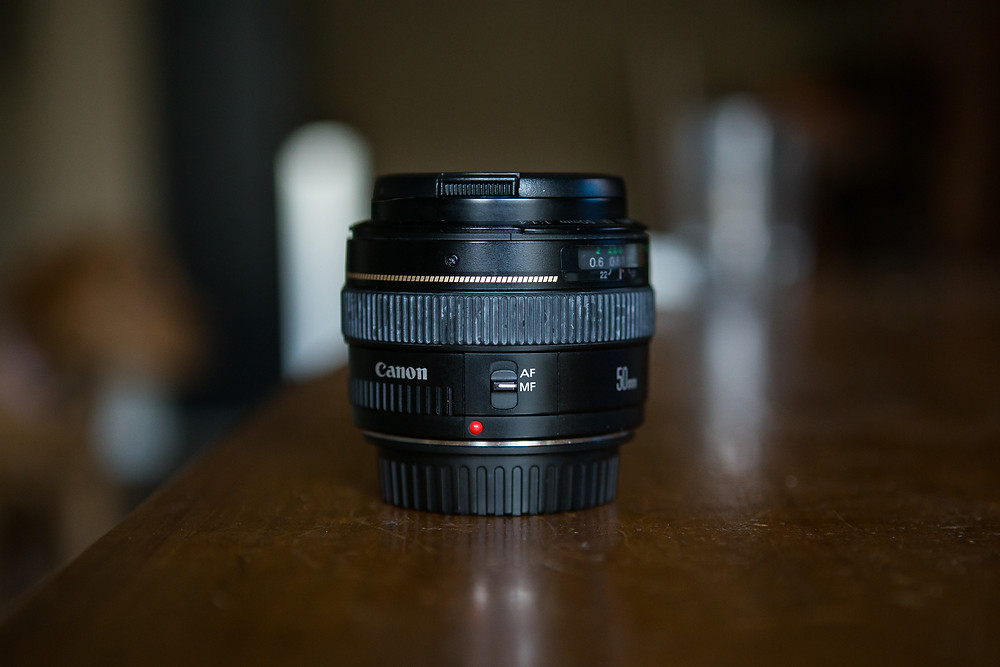 Manual focus adjustments can be made directly on your lens, usually