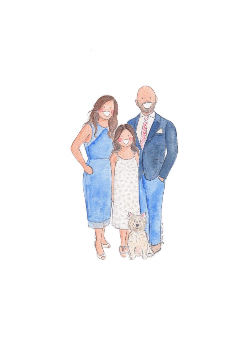 Portrait of three 2
