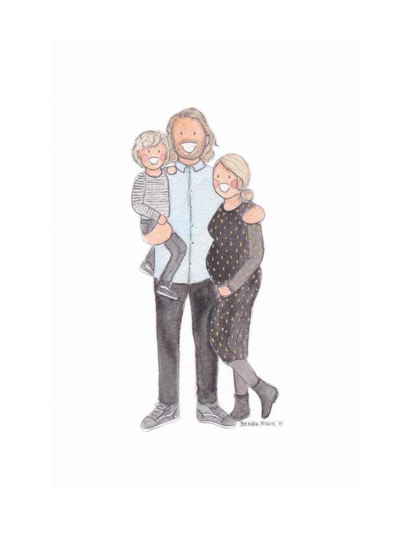 Portrait of three 1