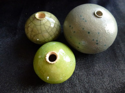 G-17 Green Crazed Micro £10, Lime Green Micro £10, Green Speckle Mini £20