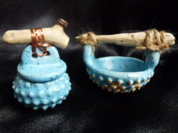 F-10 Micro Pot -SOLD- Bowl -SOLD- Local Driftwood