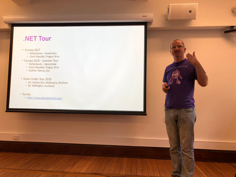 .NET Downunder Tour Sydney 2019