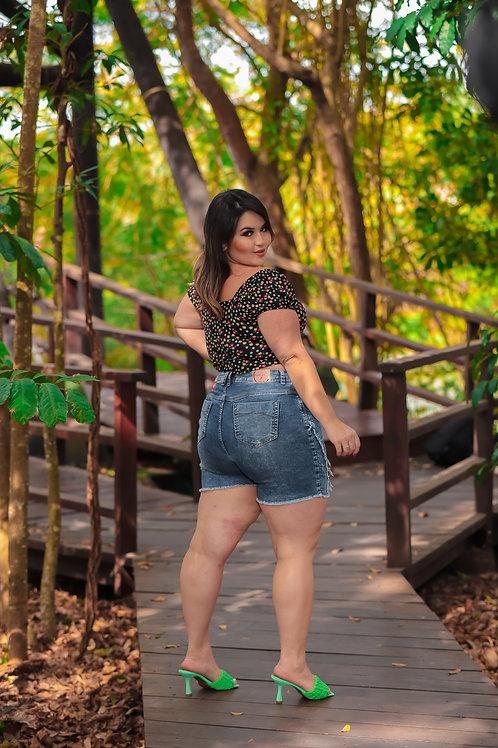 Bermuda Meia Coxa Plus Size Copen Jeans