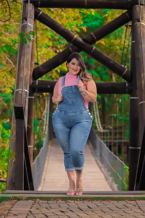 Macacão Plus Size Copen Jeans