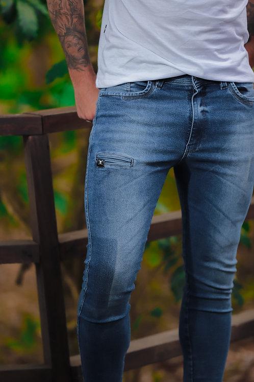 Calça Super Skinny Masculina Danger Jeans