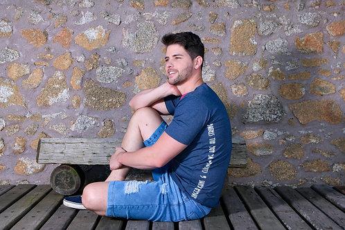 Camiseta e Bermuda Danger Jeans