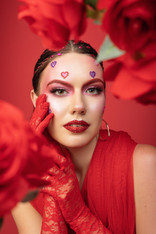 Valentines Themed Photoshoot Model: Maddi Rigden Agency: Kirsty Bunny Management Photographer: Olivia Melhop Stylist: Belle Wang  Makeup and hair by Alana