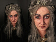 Witch Character Makeup Model: Holly Dickison Makeup / Wig Application / Photography by Alana [Te Auaha Ageing Assessment]