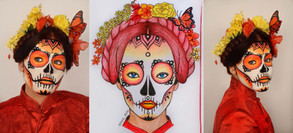 Sugar Skull + Facechart