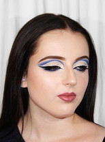 Graphic Liner & Cut Crease on Orla Makeup / Photography by Alana
