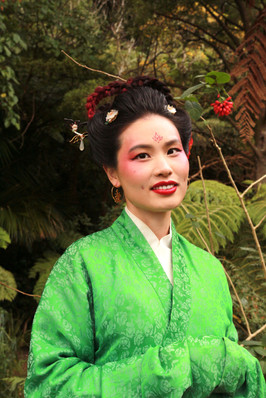 Model / Traditional clothing provider: Tian Gan Makeup / Hair / Photography by Alana