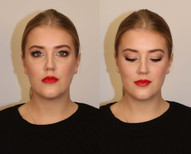 Classic Eye and Bold Lip on Jarna