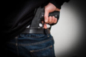 Guy Carrying Concealed Weapon