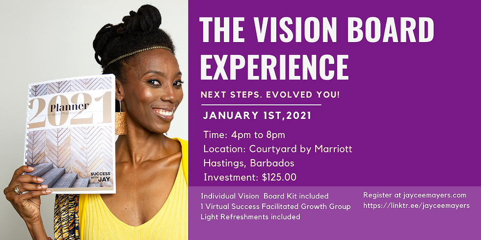 Success With JAY - Vision Board Experience 2021