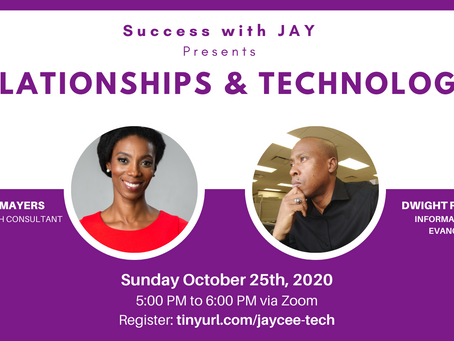 Success with JAY webinar: Relationships & Technology