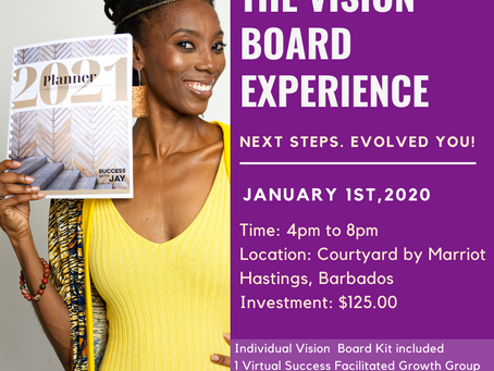 2021- THE VISION BOARD EXPERIENCE