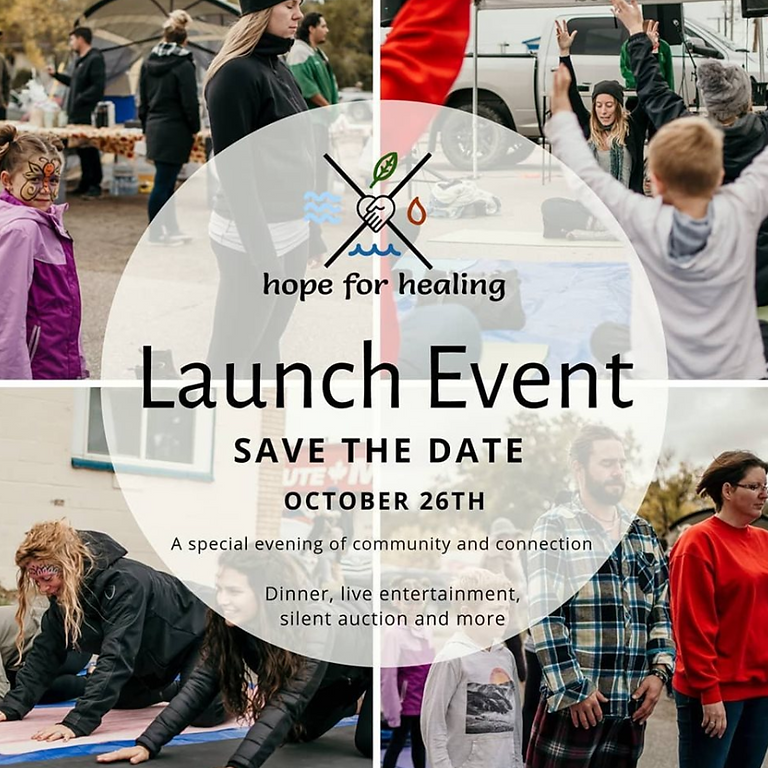 Hope for Healing Launch Party