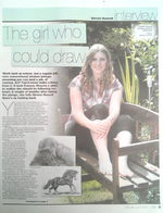 East Anglian Daily Times article - Artist Frances Vincent