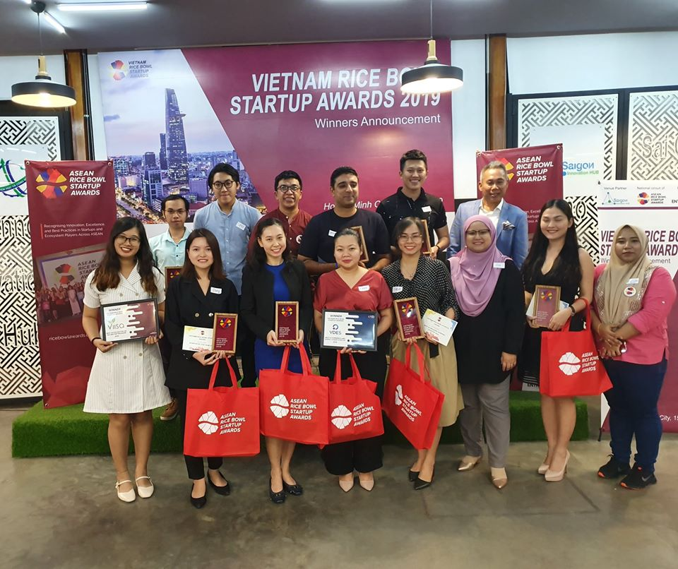 2019 Vietnam Rice Bowl Startup Awards